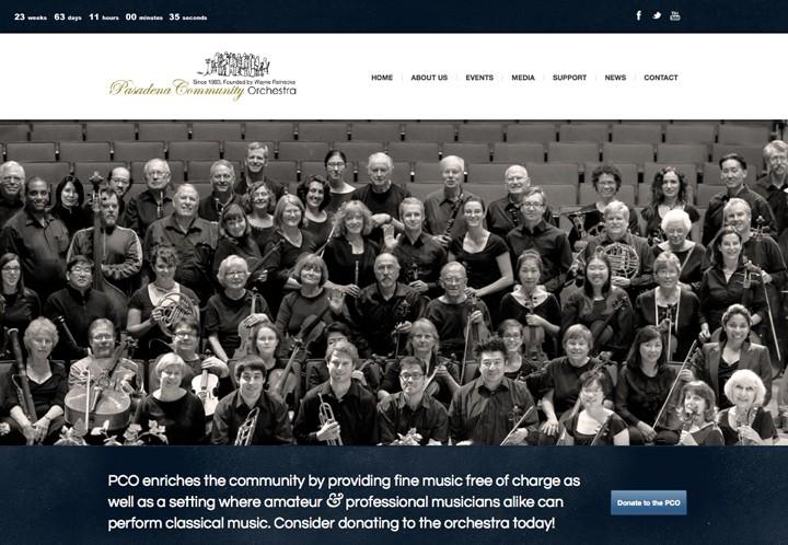 Pasadena Community Orchestra thumbnail