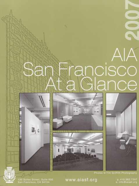 AIA San Francisco brochure