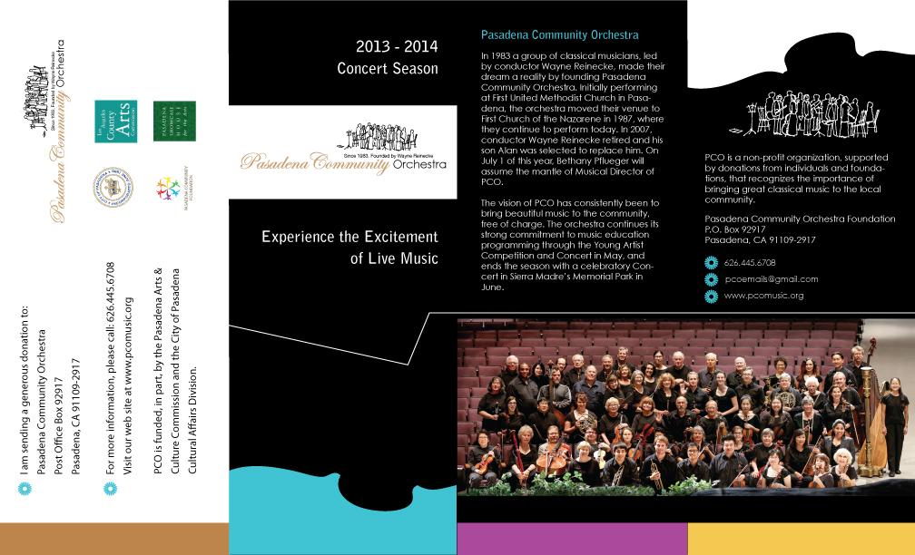 PCO tri-fold brochure