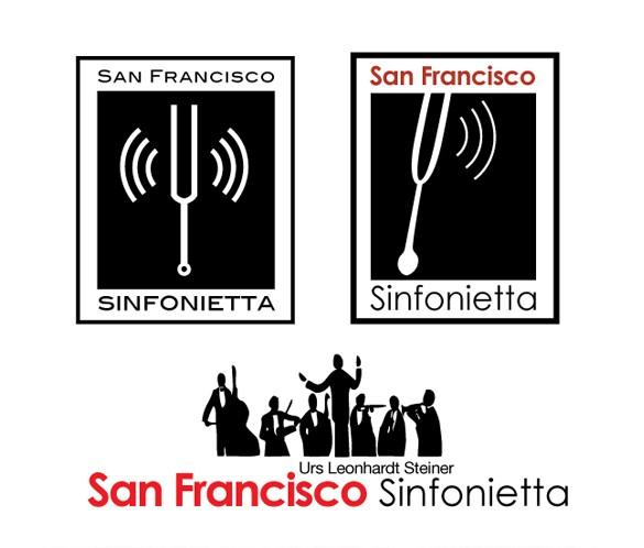 SF Sinfonietta logo variations