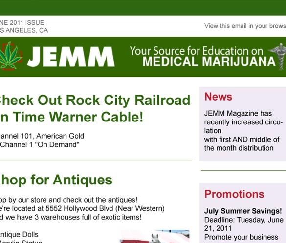 JEMM eNewsletter thumb