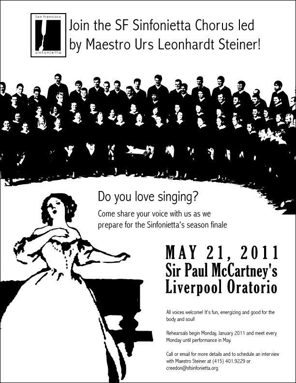 SF Sinfonietta Choir flyer