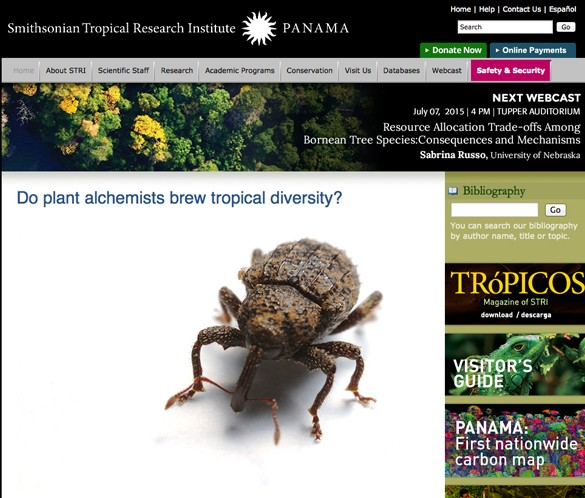 Smithsonian Home Page thumb